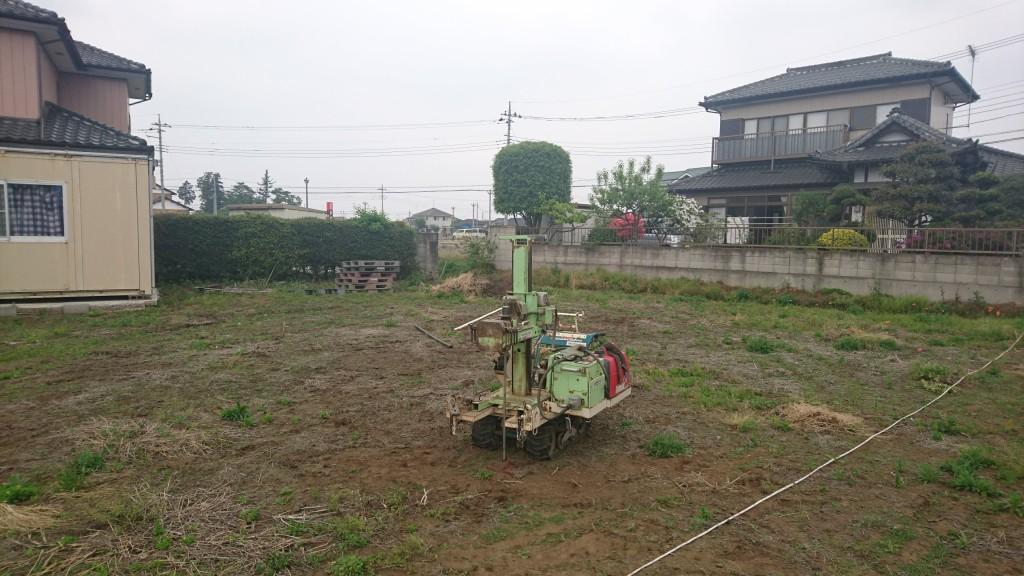 茨城県古河市 新築 注文住宅 総タイル張りの家