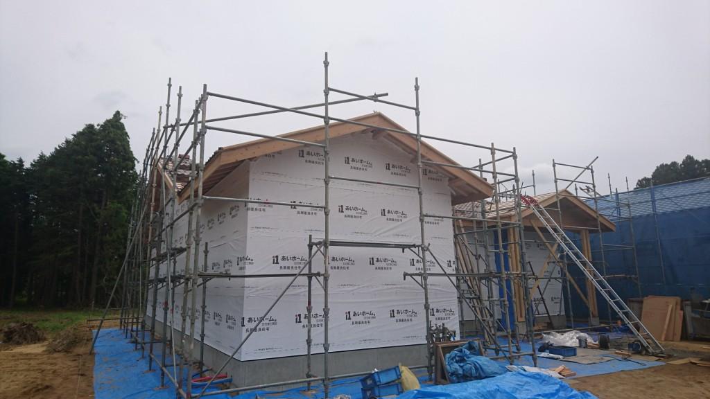 プロヴァンス風の平屋、茨城県注文住宅