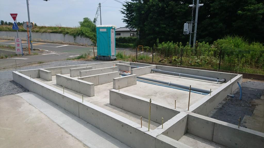 近日、茨城県桜川市にて注文住宅上棟予定!
