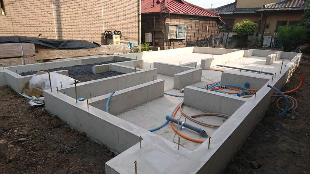 茨城県筑西市 注文住宅 今月下旬上棟予定!