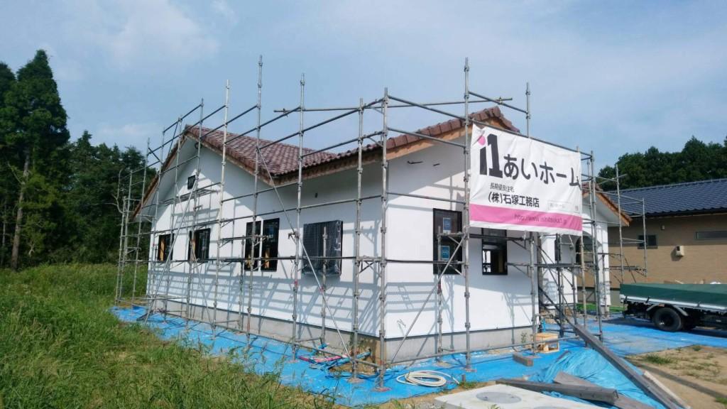 茨城県平屋の注文住宅、小美玉市「プロヴァンス風」の平屋