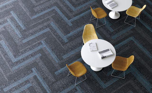 サンゲツから、オフィス・施設向けのカーペットタイルを140点発売