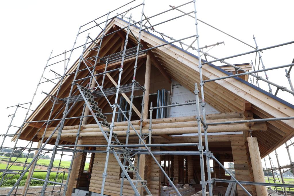 栃木県注文住宅「木の家」ログハウス!構造見学会開催します!