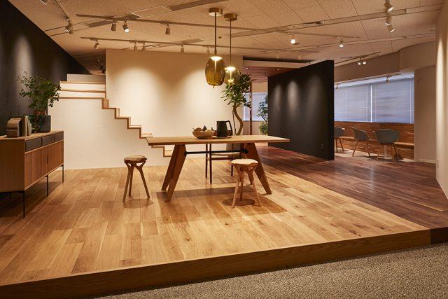 朝日ウッドテックから、素材感を体感できる「横浜ショールーム」を開設