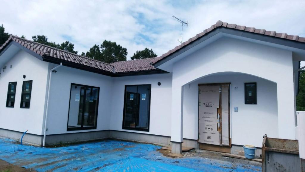 茨城県注文住宅 「プロヴァンス風」の平屋