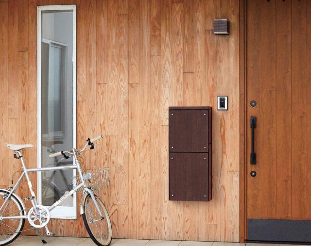 ナスタから、屋内で受け取れる壁貫通型宅配ボックスの受注を開始