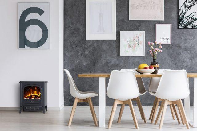ディンプレックスから、LEDでリアルな炎演出する電気暖炉3機種