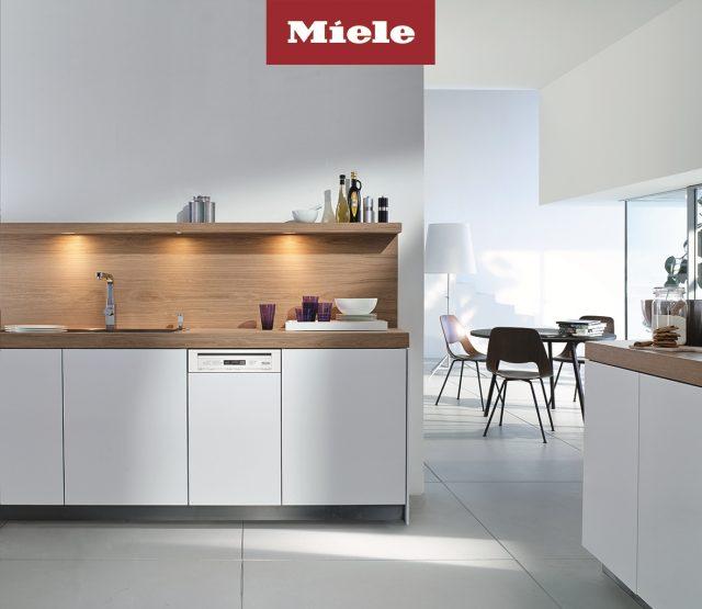 ミーレ・ジャパンから、120周年限定モデルのビルトイン食洗機を発売