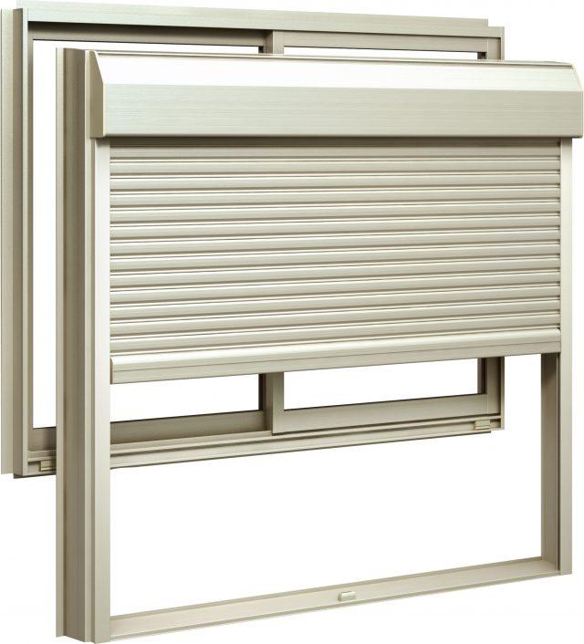YKKAPから、窓に後付けできる窓シャッター発売 台風対策にも有効