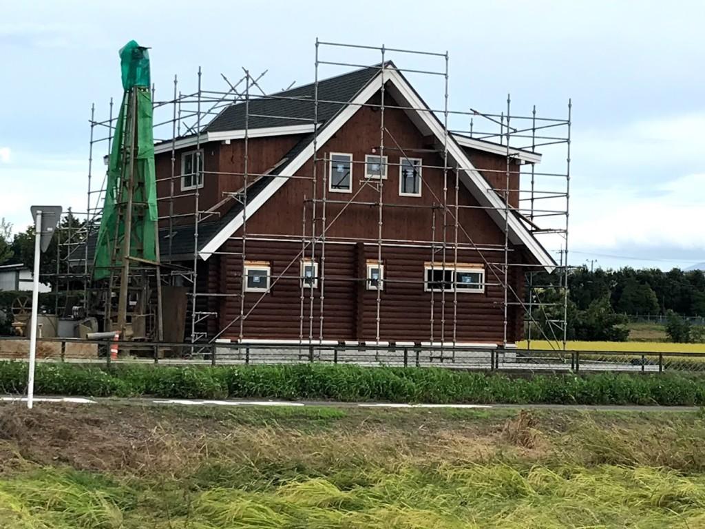 栃木県真岡市の「木の家」ログハウス注文住宅