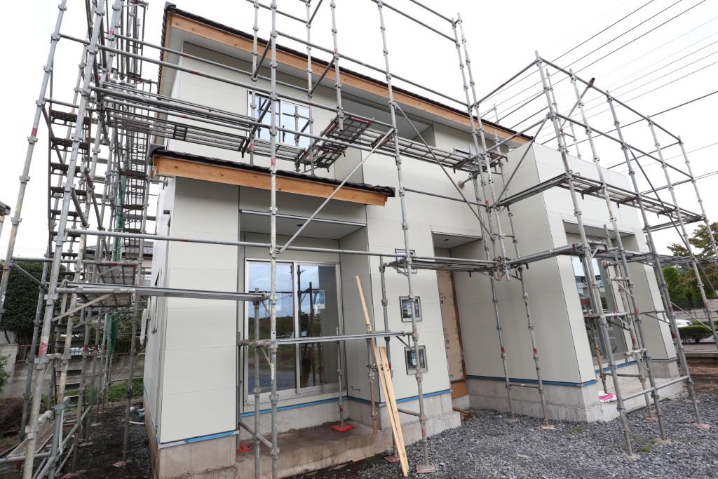茨城県注文住宅「総タイル張の家」メンテナンスフリーの住宅