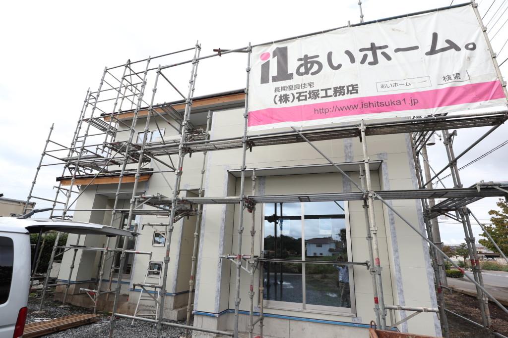 メンテナンスフリー「総タイル張りの家」、茨城県注文住宅
