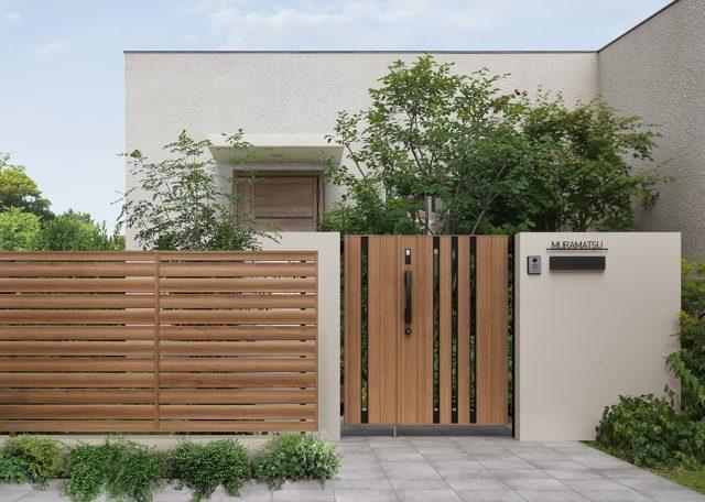 LIXILから、木質表現にこだわったアルミ形材フェンス・門扉 発売へ