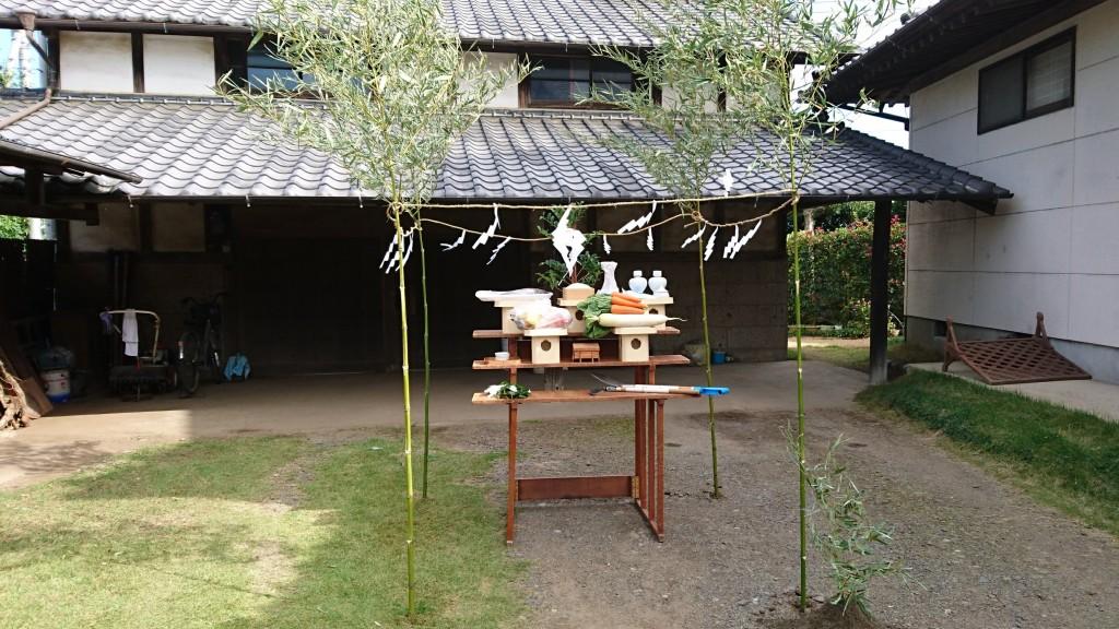 茨城県筑西市注文住宅、地鎮祭を行いました!