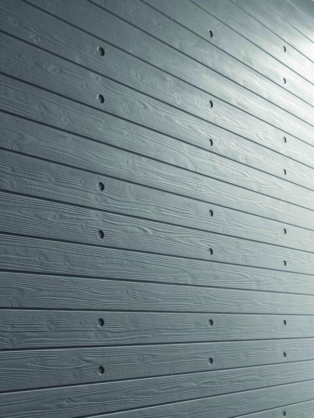 ニチハから、超高耐候窯業系外装材に木目転写コンクリート調の新柄発売へ