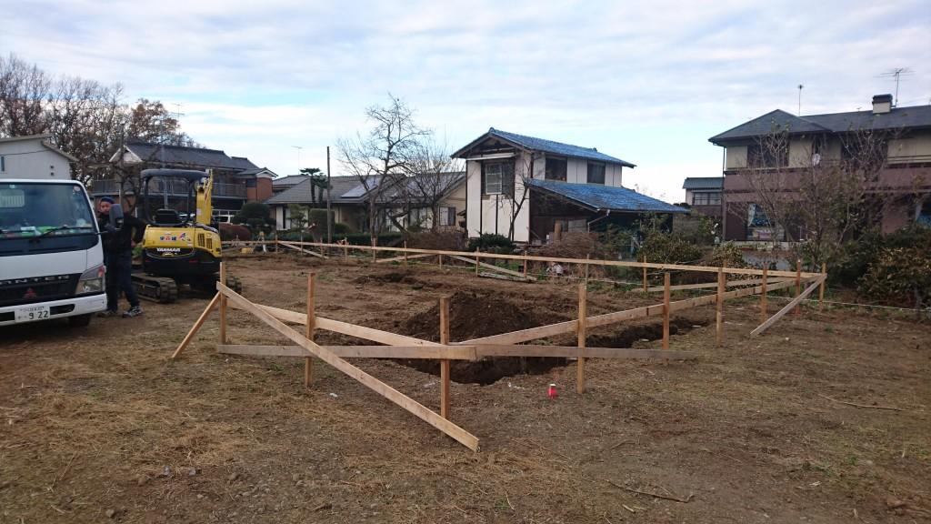 茨城県古河市「平屋」新築注文住宅の基礎工事始まりました!