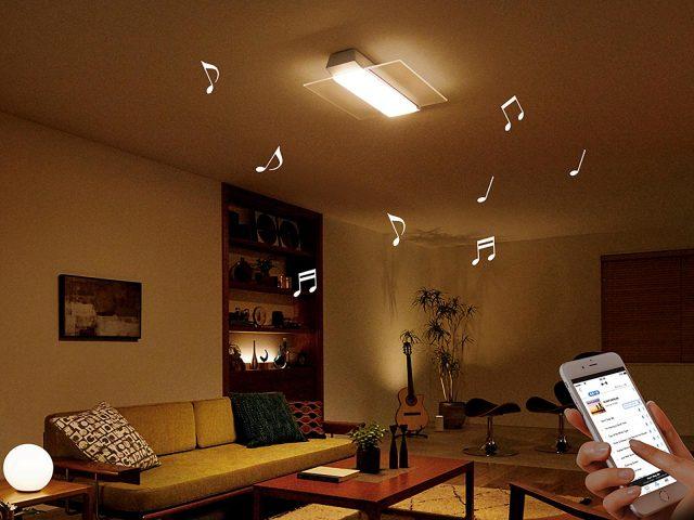 パナソニックから、スピーカー搭載LEDシーリングライトの新製品登場