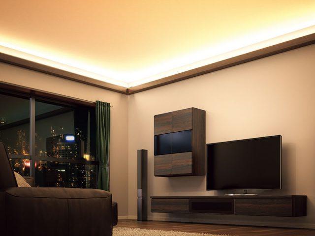 永大産業から、省施工な「間接照明+壁材」セットを発売へ