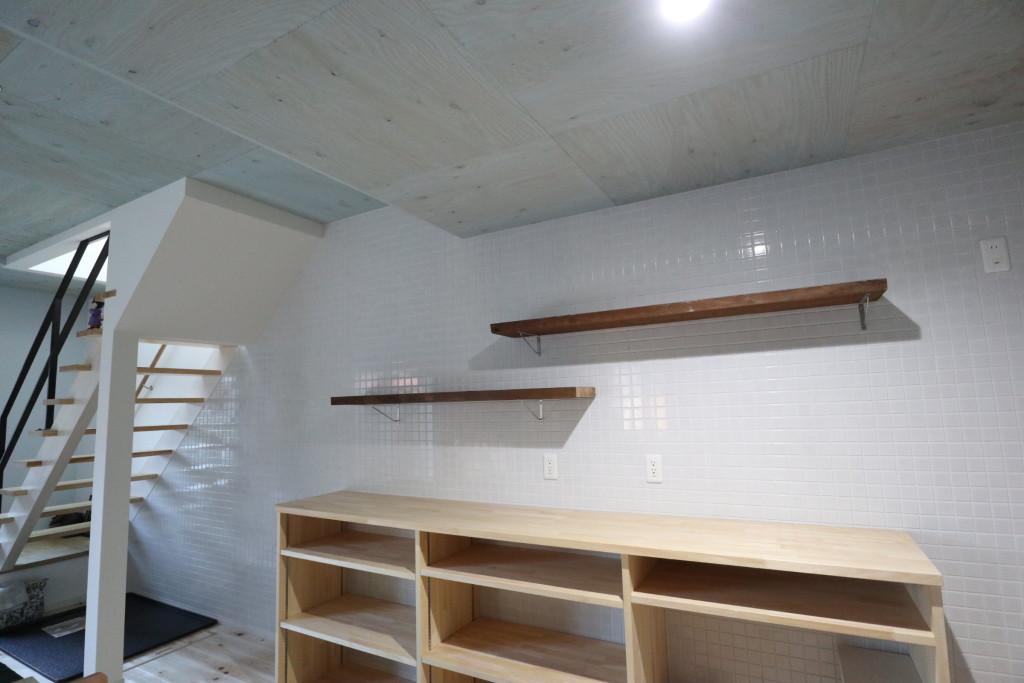 茨城県筑西市注文住宅「オーダーの食器棚」作成しました!