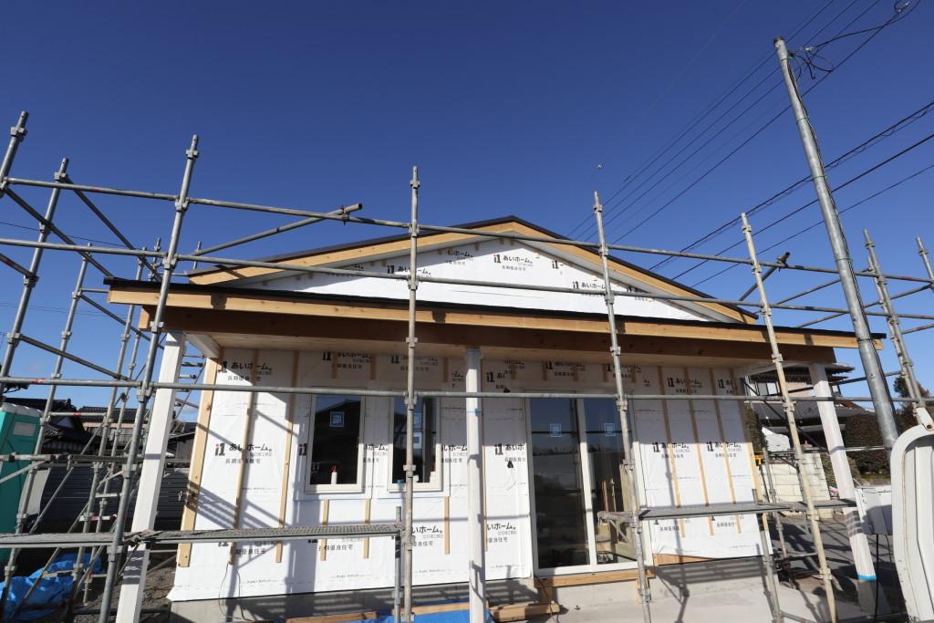栃木県栃木市の「カルフォルニア風事務所」新築工事