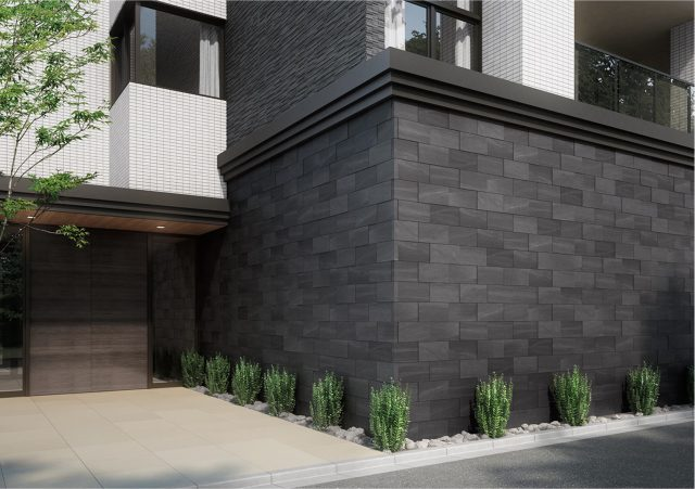 LIXILから、邸宅感ある石柄の外装壁タイル発売へ