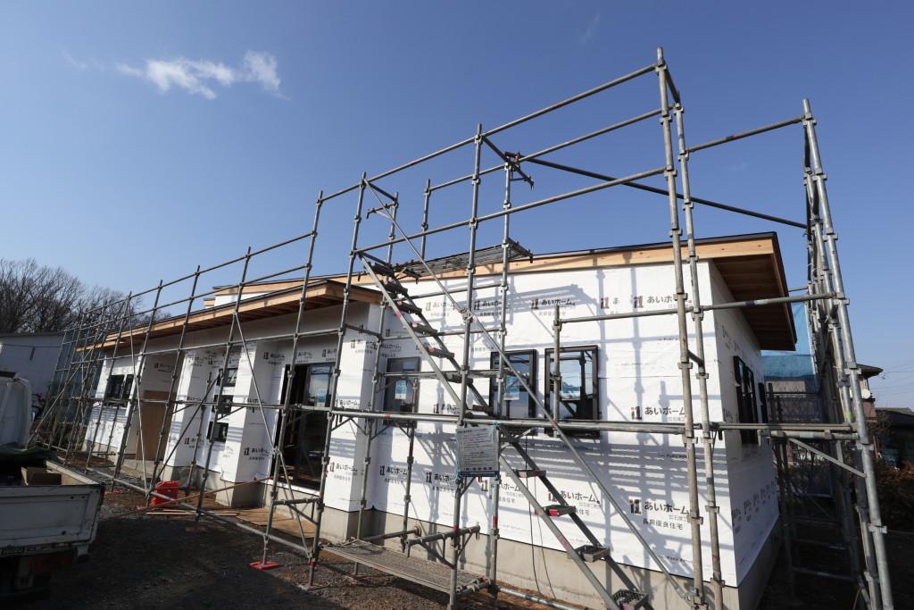 茨城県注文住宅「スタイリッシュな平屋」新築工事進行中です!