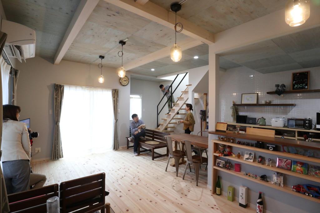 茨城県筑西市内にて注文住宅の雑誌の撮影を行いました!