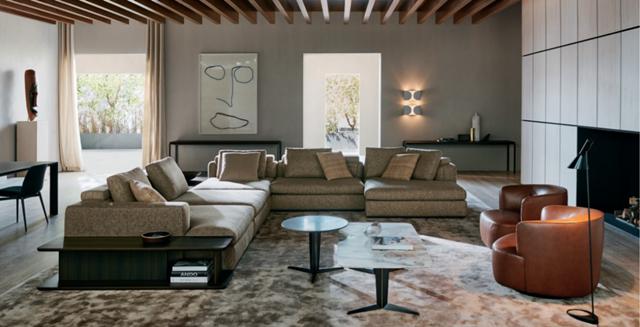 高級家具ブランド「モルテーニ」から、ミラノサローネ出展の新製品14点を発表へ