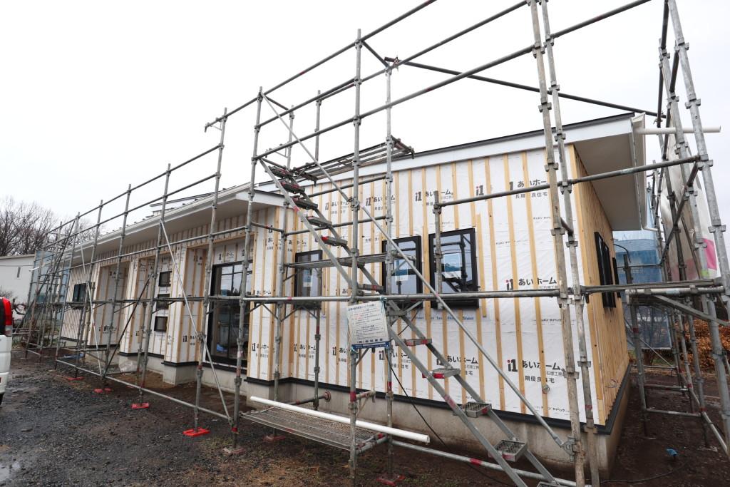 茨城県古河市注文住宅「スタイリッシュな平屋」新築工事順調に進行中です!