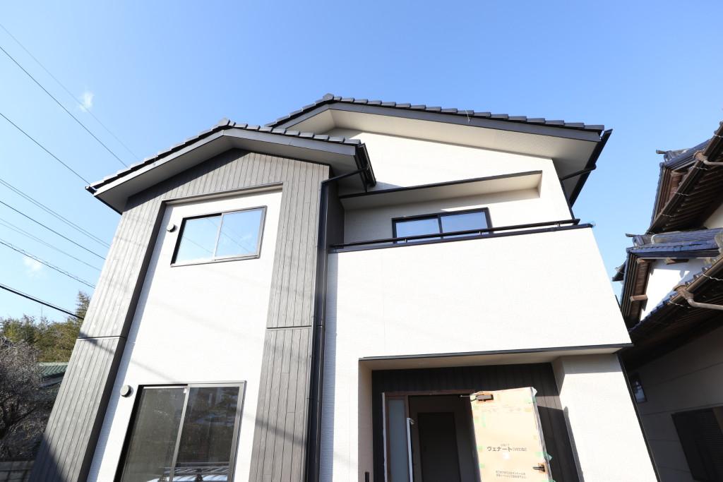 茨城県筑西市「和モダンな注文住宅」完成間近です!