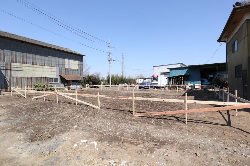 茨城県筑西市注文住宅「総タイル貼りの二世帯住宅」基礎工事着工しました!