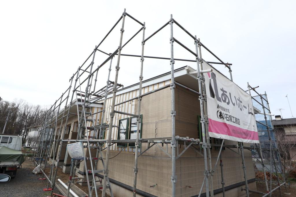 茨城県古河市注文住宅「スタイリッシュな平屋」新築工事進行中です!
