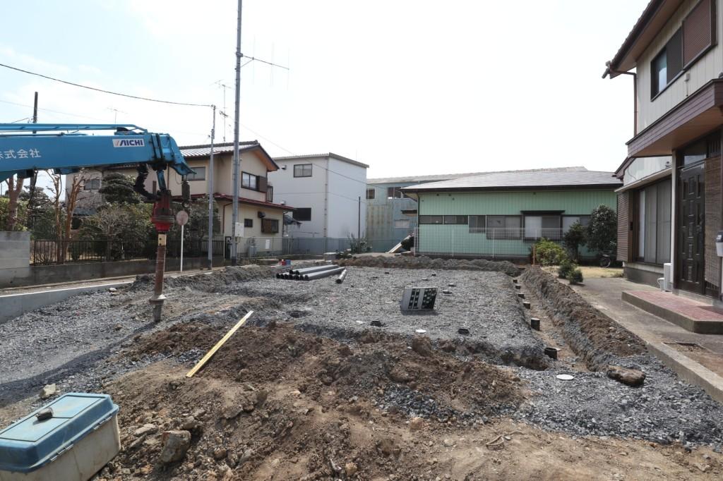 茨城県筑西市注文住宅、地盤改良工事を行いました!
