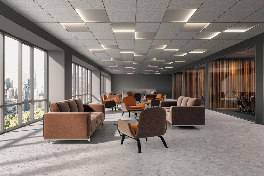 パナソニックから、600グリッド天井に自由に配置できる建築照明器具発売へ
