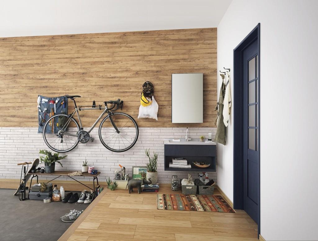 パナソニックから、壁装飾や収納を手早くきれいに仕上げる「現場造作部材」発売へ