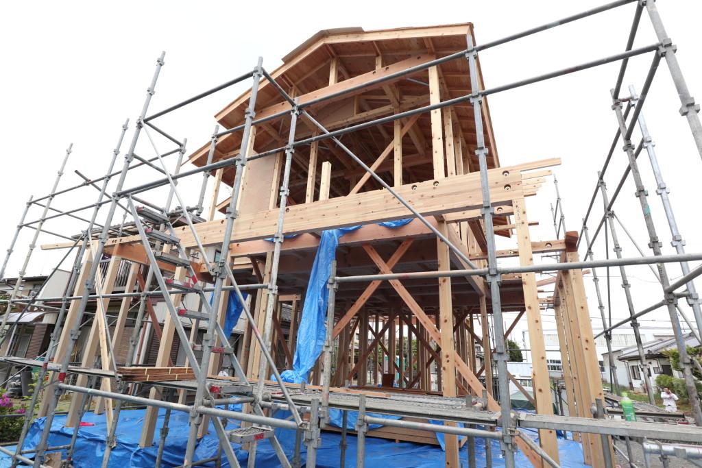 茨城県筑西市「和風モダンな注文住宅」新築工事進行中です!