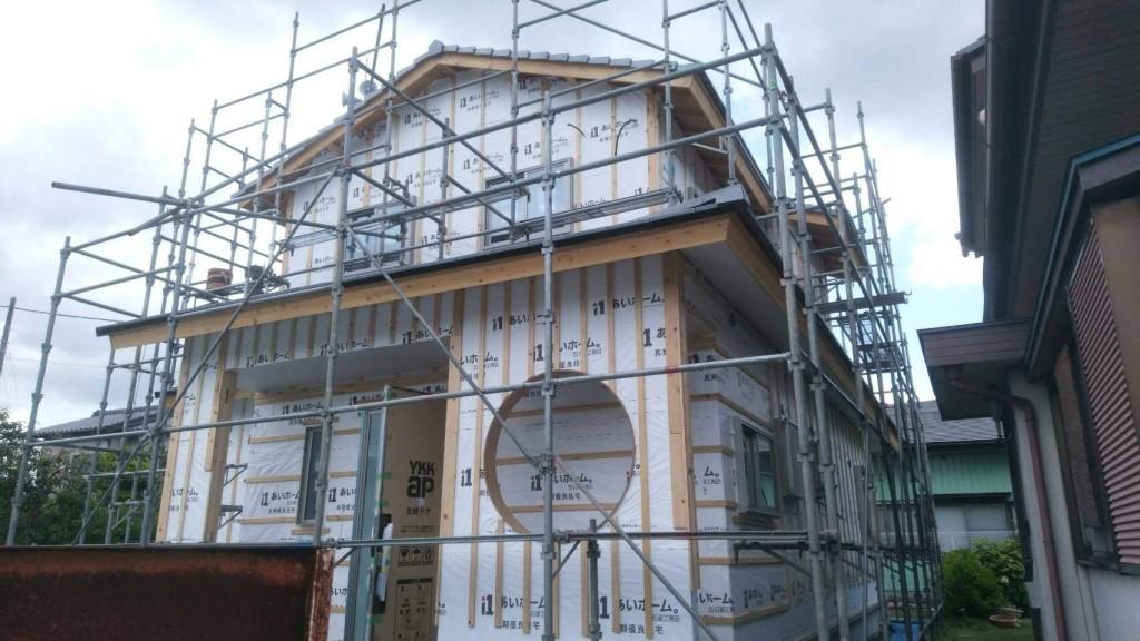 茨城県筑西市「和風な注文住宅」新築工事進行中です!