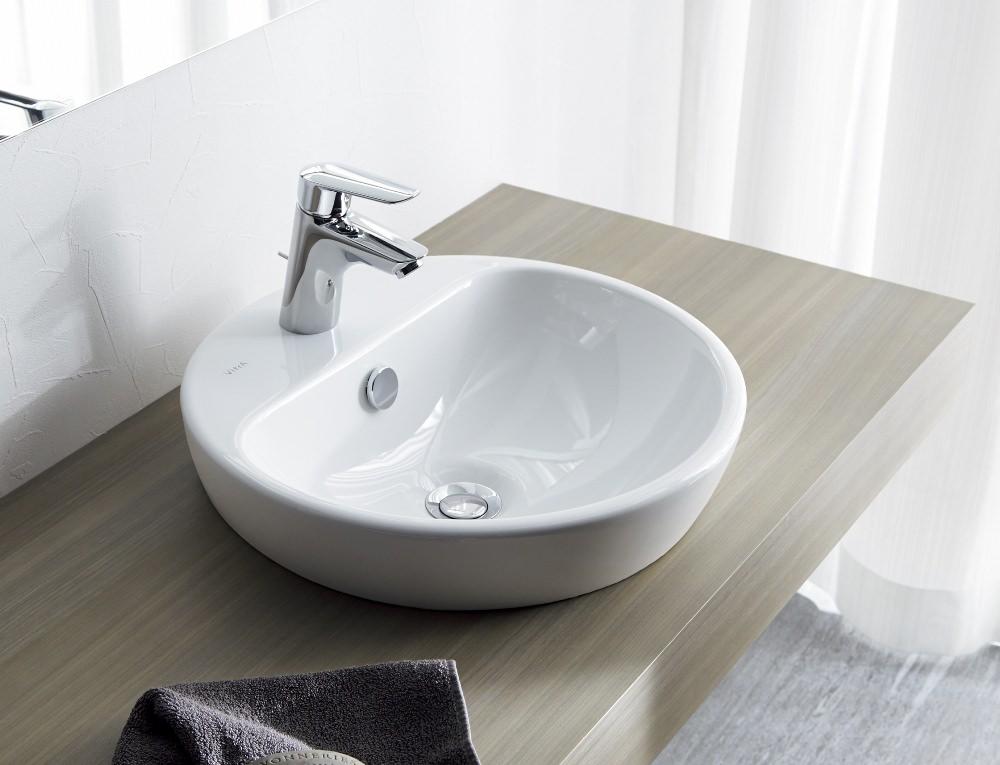 セラトレーディングから、曲線がかわいいヴィトラ社の洗面ボウルを発売へ