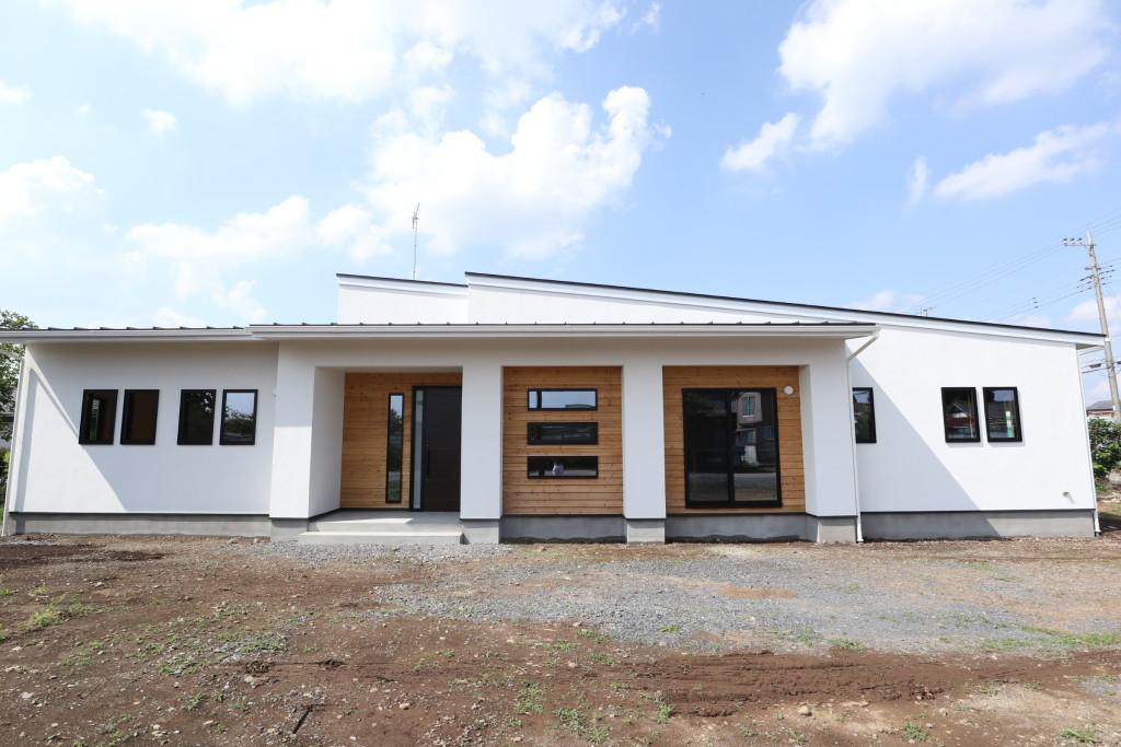茨城県注文住宅「スタイリッシュな平屋」完成見学会終了しました!