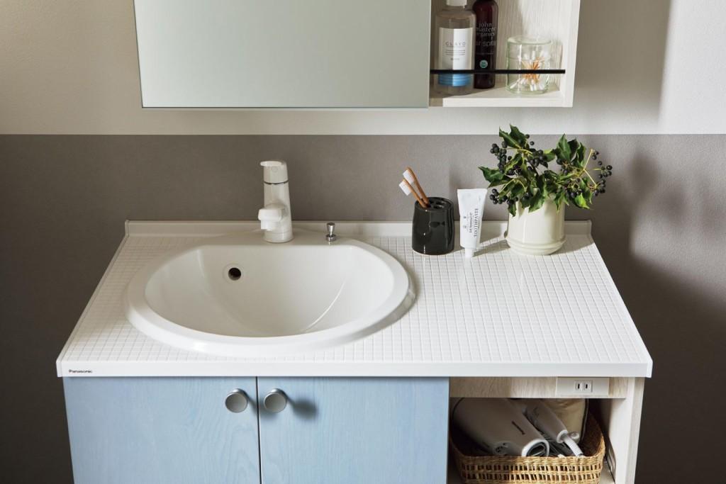 パナソニックから、洗面台「シーライン」のデザイン・収納を拡充