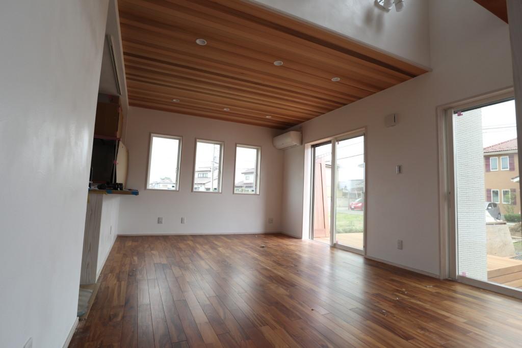 茨城県筑西市「総タイル貼り注文住宅」近日完成予定です!