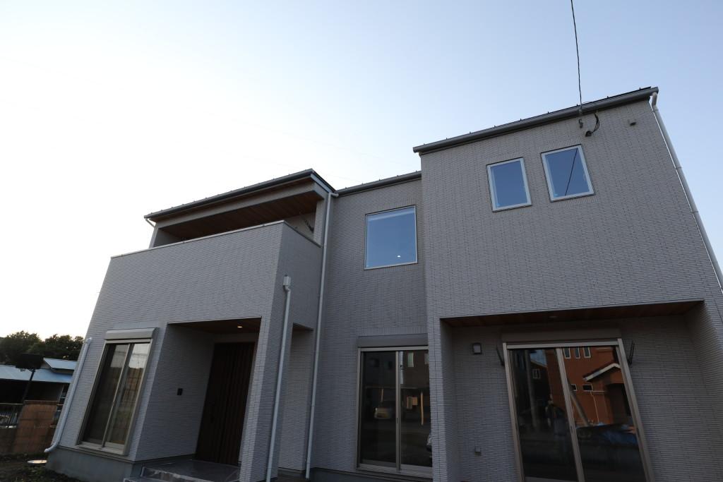 茨城県筑西市「総タイル貼りの注文住宅」完了検査終了しました!
