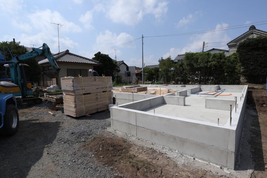 茨城県筑西市注文住宅近日上棟予定です!