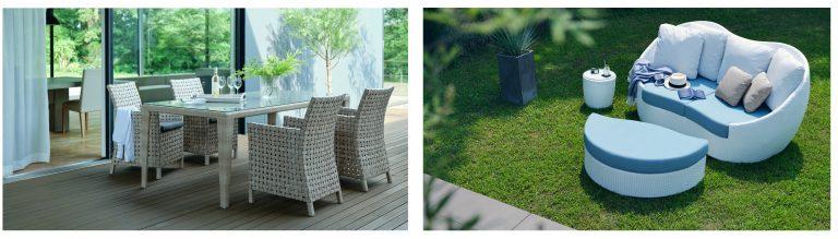 LIXILから、人工ラタン+手仕事による「ガーデンファニチャー」発売へ