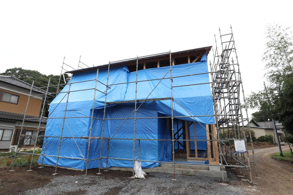 茨城県八千代町にて新築注文住宅上棟しました!