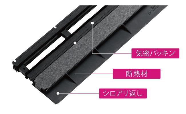 城東テクノから、3機能を一体化させた基礎断熱工法用の気密パッキンを発売へ