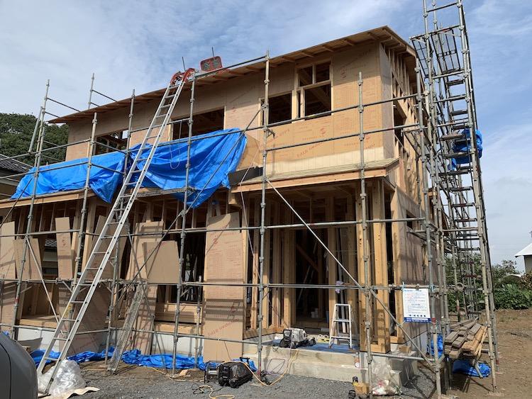 茨城県八千代町「ヒノキの注文住宅」新築工事進行中です!