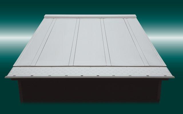 元旦ビューティから、住宅向け0.5寸勾配対応の金属屋根を発売
