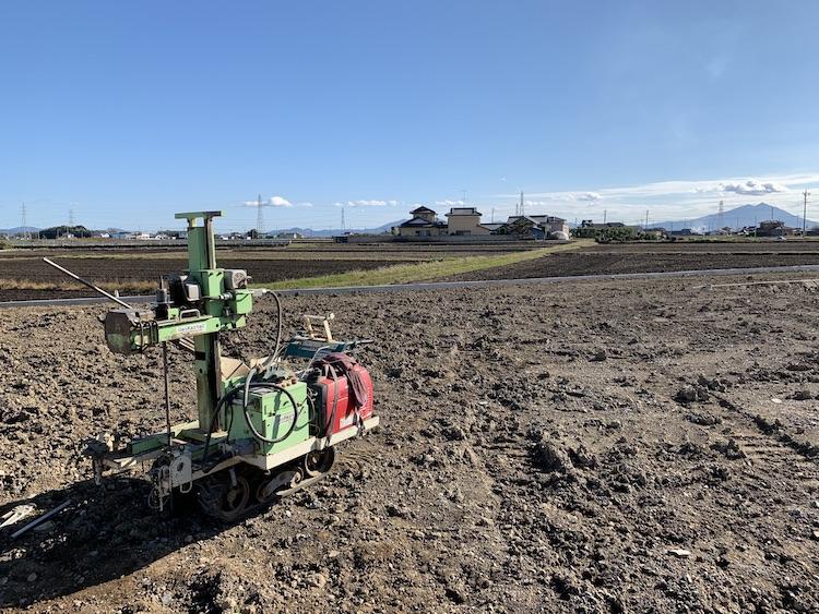 茨城県筑西市注文住宅、地盤調査を行いました!