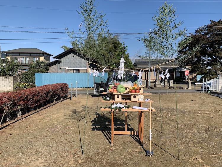 栃木県栃木市にて注文住宅の地鎮祭を行いました!